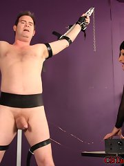 Mistress Julie Spanks\\\' hostage brought her a boon owing to them to play go underground- a perfume of acid nettles.