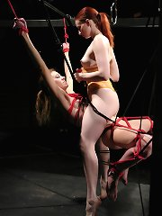 Hot, wet, sexy act by 2 excellent bdsm players!