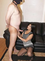 Hot domina humiliate slaveboy