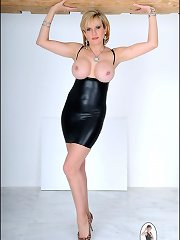 Lady sonia mark rubber immature dress