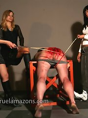 Malesub was spanked to the blood