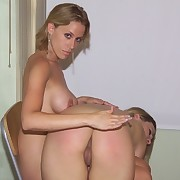 Blonde honey acquires otk spanked