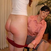 Corrupt matures in hot role-play prefer to abhor spanked
