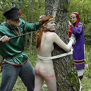 Outdoor russian caning