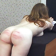 Sluts caned in school