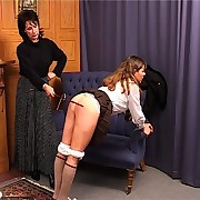 Caning of innocent school girl