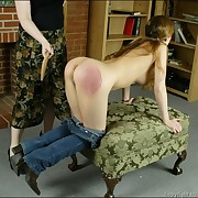 Ass caning and paddling