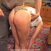 Husband punished bad wife on the bed