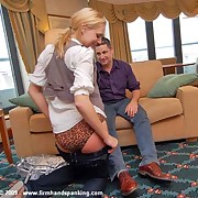 Husband spanked fit together