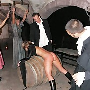 Punishment for tight nuisance blonde