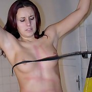 A brutal butt-beating awaits Sandra