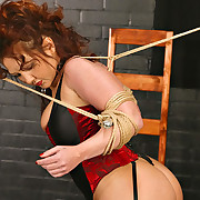 Bondage and tit torture
