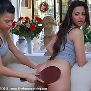 175-smack spanking be advantageous to tight-bodied cheerleader Kelly Morgan