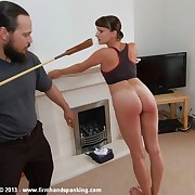 The psychology be worthwhile for 45 with a riding crop tests cadet Leia-Ann Woods' obedience