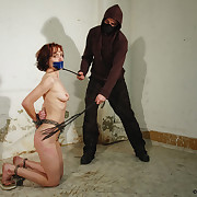 Be passed on bullwhipping punishment be useful to the tied and gagged unspecified