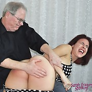 Fit doll gets her nates flogged