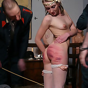 Bad girls punished hard
