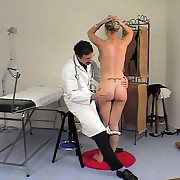 Shameful examinations and in nature's garb bottoms spankings in the medical room