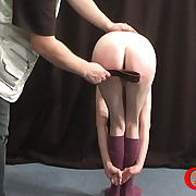 Prurient skirt has brutal spanks on her bottom