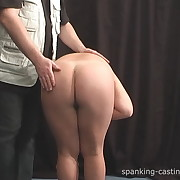 Filthy minx has hellish whips on her bum
