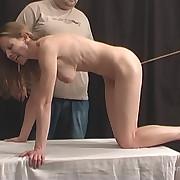 Sadistic whipping for wayward slut