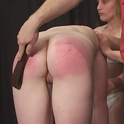Dissolute miss gets mercilles whips on her butt
