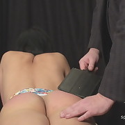 Salacious fille gets vicious whips on her rump