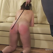 Wanton skirt has barbarous whips on her tail