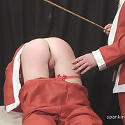 Lecherous flapper gets atrocious spanks on her hindquarters