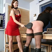 Cute miss gets her tush welted