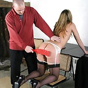 Chastising of outcast wife