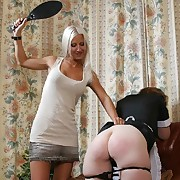 Gorgeous girl gets her fannies flagellated