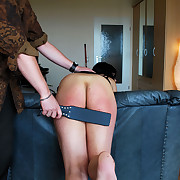 Smutty chick gets their way ass punished
