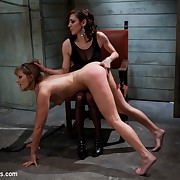 Maitresse Madeline bound, humiliated, fucked and hazed in painless director of Whippedass.com