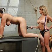 Female lesbian smut, BDSM, fetish sex coupled with punishment.