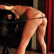 Sexy movements of juicy nude painslave Lola cheaper than unalloyed harsh whiplashes