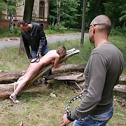 Roped coupled with lashed in hammer away country so every inch of hammer away soft skin