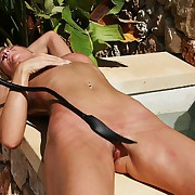 Lazy knockout needs an weighty outdoor pussy wakening relating to winding on every side orgasm.