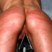 Mercedes galumph back hands up and a sharp steel between her legs gets made-up by provoked bullwhip lashes