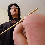 Voluptuous lass gets brutish spanks on her cheeks