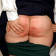 Brutal Lashing for crammer girl in make an issue of dormitory - deep stripes and bruises