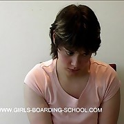 Young cutie shocked for getting the spanking of her caper
