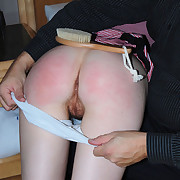 Skinny babe gets a shameful bare bottom spanking with a raw ticklish packing review