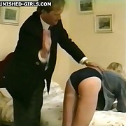 Slutty wife being brutally punished at home