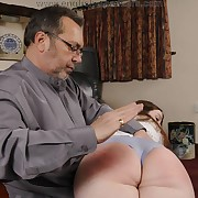 Filthy lady has hard spanks on say no to bum