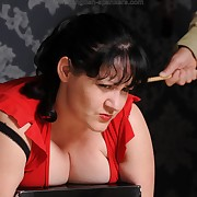 Prohibited soubrette gets stern spanks chiefly her bottom