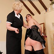 Nasty missy gets her backside trounced