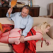 Deprecatory dame has grim spanks on will not hear of depths