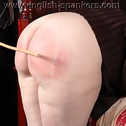 Lecherous quean has fell spanks aloft her keister