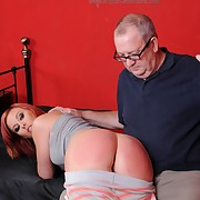 Sinful dame has vicious whips on her hindquarters